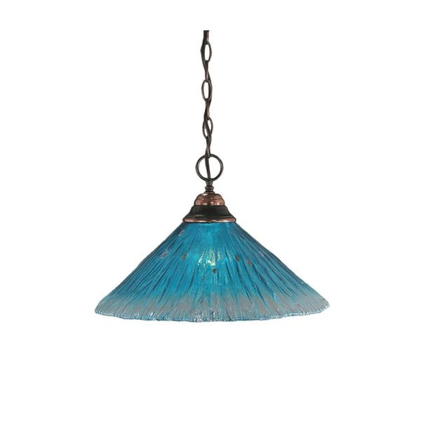 Modern Copper Ring Led Pendant Lighting 10758 Shipping: Shop Cambridge 1-Light Black Copper 10.25 In. Pendant With