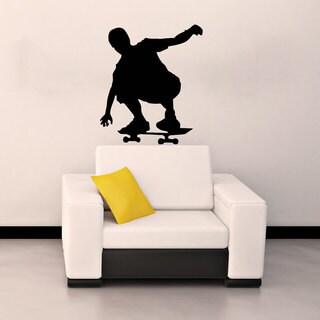Skateboard Skateboarder Sticker Vinyl Wall Art
