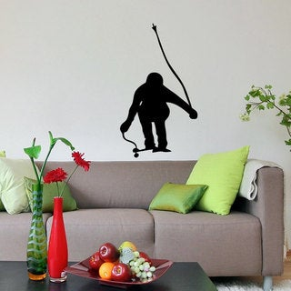 Flying Ski Racer Sticker Vinyl Wall Art