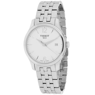 Tissot Women's T0632101103700 Tradition Round Silvertone Bracelet Watch