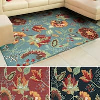Rug Squared Sea Breeze Floral Runner Rug (2'6 x 8')
