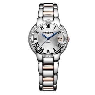 Raymond Weil Women's 2935-S5S-01659 'Jasmine' Automatic Two tone Stainless Steel Watch
