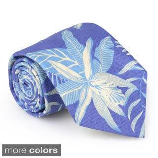 Tommy Bahama Men's Handmade Printed Tie