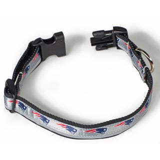 Petflect New England Patriots Reflective Collar