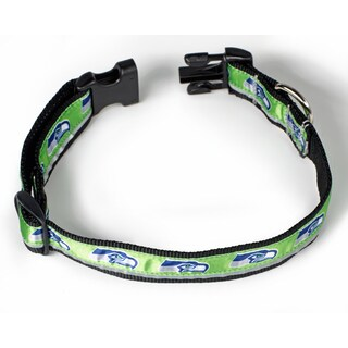 Petflect Seattle Seahawks Reflective Collar