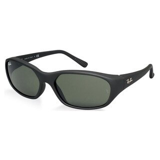 Ray-Ban Daddy-O RB 2016 W2578 Unisex Black Frame Green Lens Sunglasses