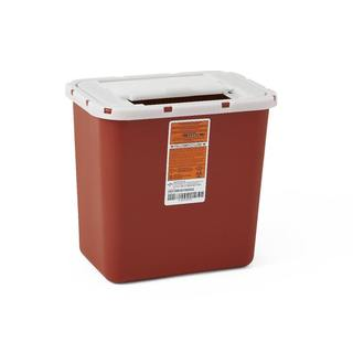 Medline Biohazard Multi-Purpose Sharps Containers, 2 Gallon (Pack of 20)
