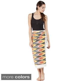 Handmade Women's Ikkat Kekoi Sarong Wrap (India)