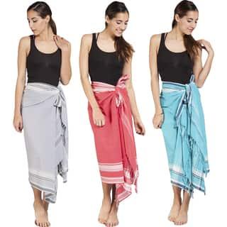 Handmade Women's Cotton Kekoi Sarong Wrap (India)|https://ak1.ostkcdn.com/images/products/10023038/P17169427.jpg?impolicy=medium