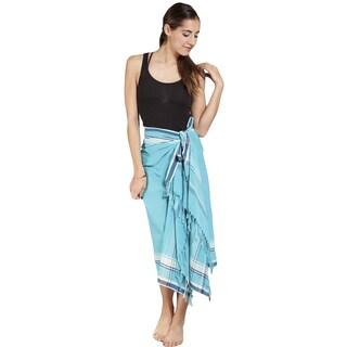 Handmade Women's Cotton Kekoi Sarong Wrap (India)