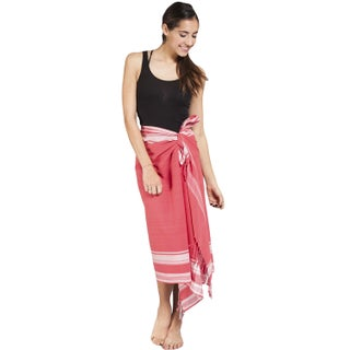 Handmade Women's Cotton Kekoi Sarong Wrap (India)