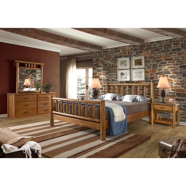 Shop Timber Creek 5 Piece Bedroom Set Free Shipping Today 10023226