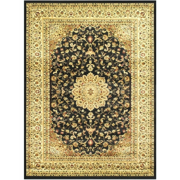 LYKE Home McKayla Black Area Rug - 8' x 11'