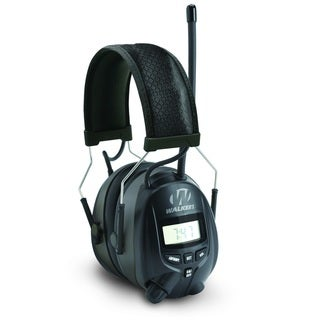 Walkers Digital AM/FM Radio Power Muff, Black