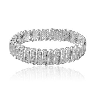 Divina Silvertone 1ct TDW Diamond Tennis Bracelet|https://ak1.ostkcdn.com/images/products/10023354/P17169740.jpg?_ostk_perf_=percv&impolicy=medium