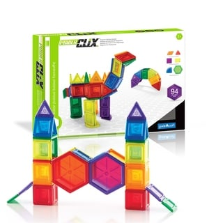 Guidecraft PowerClix Solids 94-piece Set