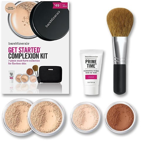 bareMinerals 7-piece Get Started Complexion Kit