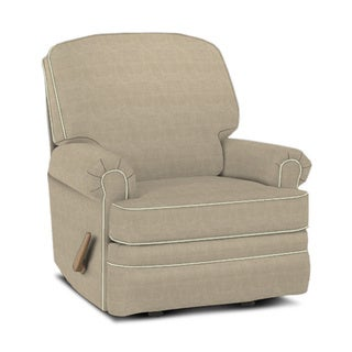 Made to Order Springfield Tan Swivel Gliding Recliner