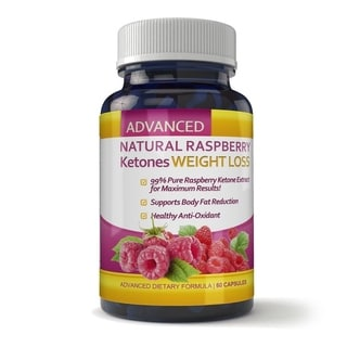 Totally Products Raspberry Ketones 60-capsule Weight Loss and Fat Burning Supplement (2 Bottles)