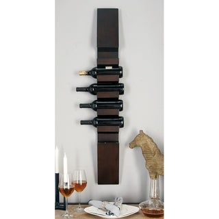 Wood 6-bottle Wine Rack