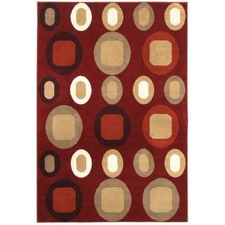 Olefin Adana Terracotta Rug (5'1 X 7'5)