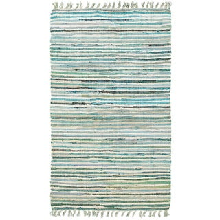 """Hand-woven Jute/ Chenille Accent Eleanor Accent Rug Blue Rug (1'9 X 2'10) - 1'9"""" x 2'10"""""""