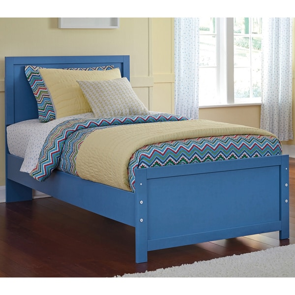 Signature Design By Ashley Bronilly Metal Blue Bed