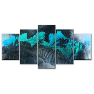Ready2HangArt 'Inkd XL' 4-piece Canvas Art Set