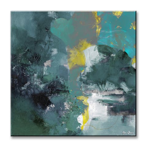 Inkd XXXIX' Abstract Wrapped Canvas Wall Art