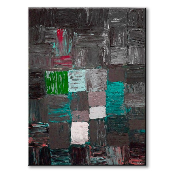 Shop Inkd XLIX' Abstract Wrapped Canvas Wall Art