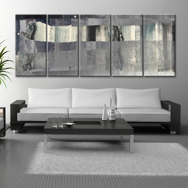 Ready2hangart Inkd Xliii Multi Panel Canvas Art Set