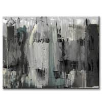 Ready2HangArt 'Inkd XLIV' Canvas Art - Grey