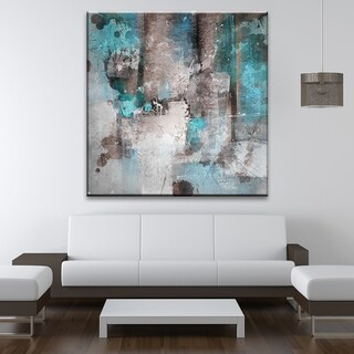 'Inkd XXVI' Abstract Wrapped Canvas Wall Art