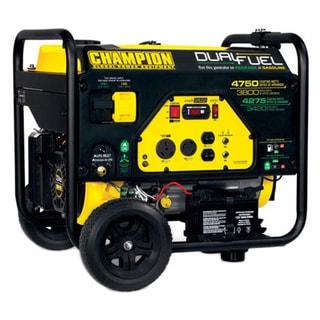 Champion 3800 Watt Dual Fuel Rv Ready Portable Generator With Electric Start