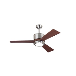Monte Carlo Vision II Brushed Steel 42-inch Ceiling Fan