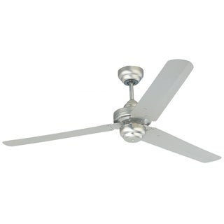 Monte Carlo Studio Brushed Pewter 54-inch Ceiling Fan