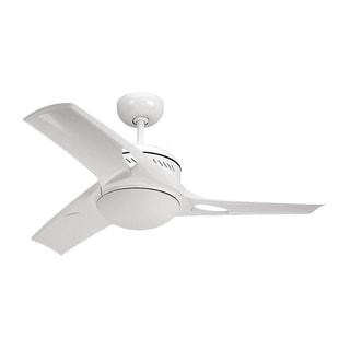 Monte Carlo Mach Two White 38-inch Ceiling Fan