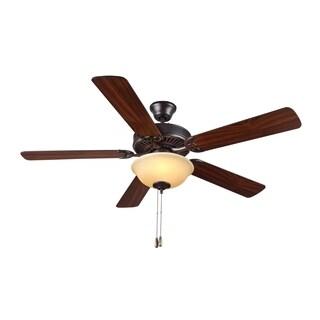 Monte Carlo HomeBuilder II Bronze 52-inch Ceiling Fan