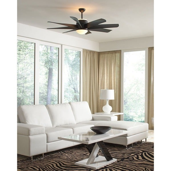 Monte Carlo Turbine Black 56-inch Ceiling Fan