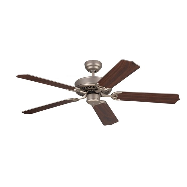 Monte Carlo Homeowner Max Brushed Pewter 52-inch Ceiling Fan