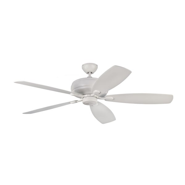 Monte Carlo Embassy Max Rubberized White 60-inch Ceiling Fan