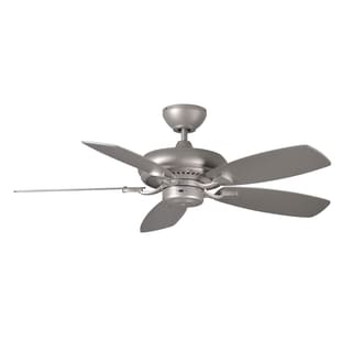 Monte Carlo Designer Max II Brushed Pewter 44-inch Ceiling Fan