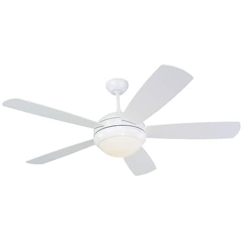 Monte Carlo Discus White 52-inch Ceiling Fan