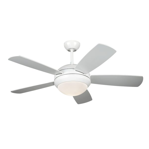 Shop Monte Carlo Discus Ii White 44 Inch Ceiling Fan