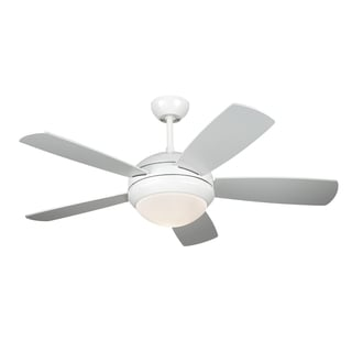 Monte Carlo Discus II White 44-inch Ceiling Fan