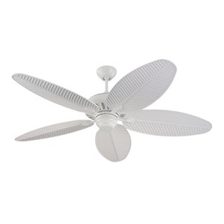 Monte Carlo Cruise Outdoor White Wet Rated 52-inch Ceiling Fan