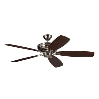 Monte Carlo Bonneville Max Brushed Steel 60-inch Ceiling Fan