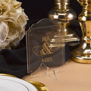 Golden Elegance Sign