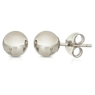 Pori Sterling silver 2mm Ball Stud Earrings