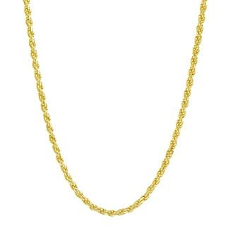 Pori Italian Goldplated Sterling Silver Rope Chain Necklace|https://ak1.ostkcdn.com/images/products/10024365/P17170551.jpg?impolicy=medium